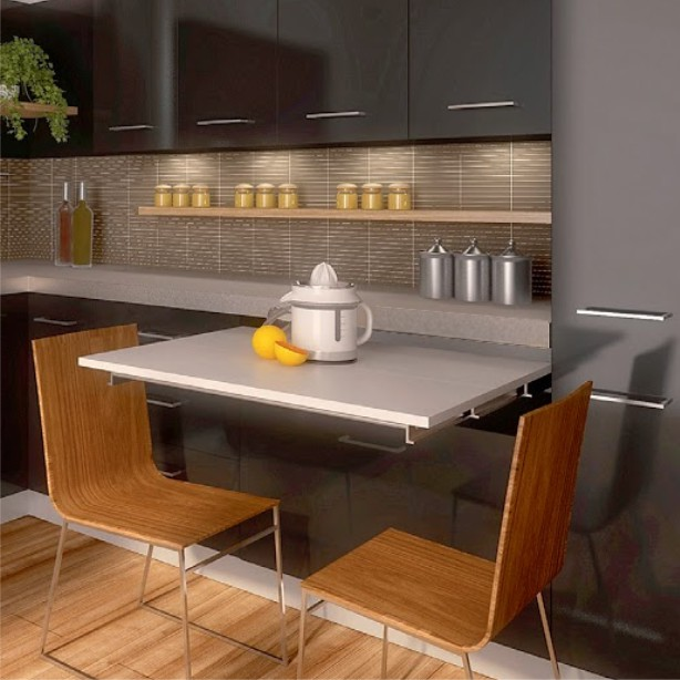 Mesa extraible atim lunch tu herraje - Mesa extraible cocina ...